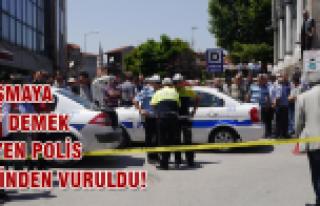 Çatışmayı önlemek isteyen polis memuru kalbinden...
