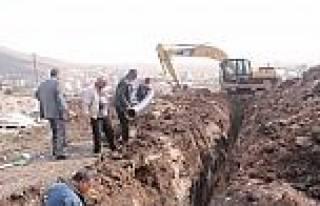 Çildir Belediyesi Alt Yapı Çalişmalarina Başladı