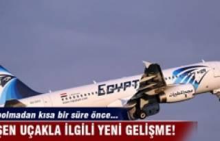 Düşen uçakla ilgili yeni gelişme! Kaybolmadan...