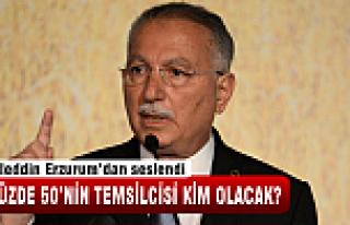 Ekmeleddin Erzurum'dan seslendi