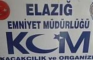 Elazığ'da Kaçak Sigara Ve Uyuşturucu Operasyonu