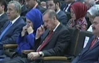 Emine Erdoğan'ın duygulandığı anlar