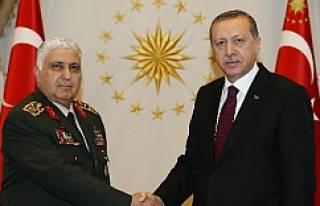 Erdoğan Özel'i kabul etti