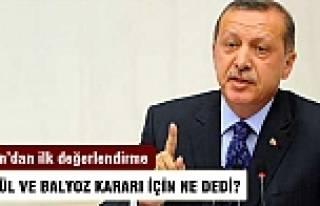 Erdoğan'dan Balyoz ve 12 Eylül kararlarına ilk...