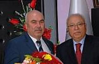 Ersin Koçak'tan Başkan Aslan'a Ziyaret