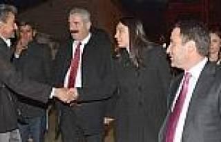 Eş Başkanlar Çalişmalari Denetledi