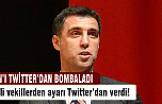 Hakan Şükür'e Twitter'dan ayar