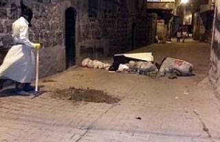 Hendek kapatma çatışması: 2 polis yaralı