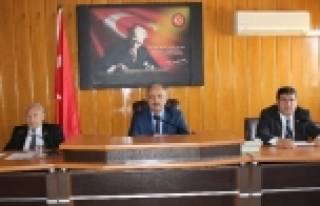 İL GENEL MECLİSİ ŞUBAT AYININ İLK TOPLANTISINI...