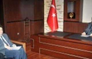İl Kültür Ve Turizm Müdürü Gso'yu Ziyaret...
