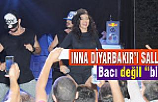 Inna Diyarbakır'ı salladı