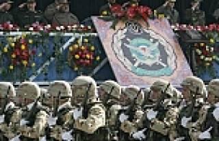 İran askerine hazır ol emri