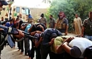 IŞİD, 1700 polisi kurşuna dizdi