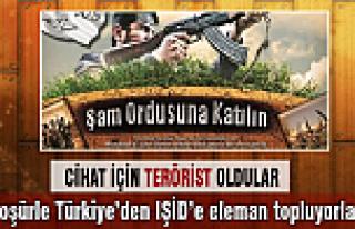 IŞİD broşürle Türkiye'den eleman topladı