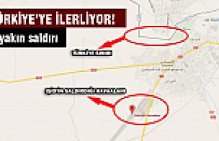 IŞİD Türkiye sınırına yaklaştı