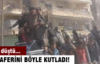 IŞİD zaferini böyle kutladı