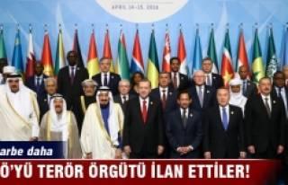 İslam İşbirliği Teşkilatı, FETÖ'yü terör...
