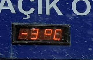 İstanbul'da termometreler eksiyi gördü