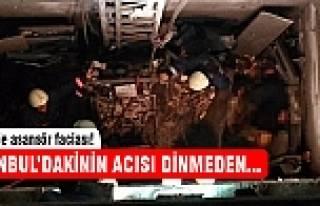 İzmir'de asansör faciası! İşçiler ağır yaralı