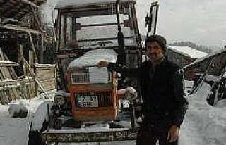 Kastamonu'daki traktöre İstanbul'dan ceza!