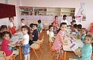 Keriman Çetinkaya Anaokulu'nun İlk Konukları