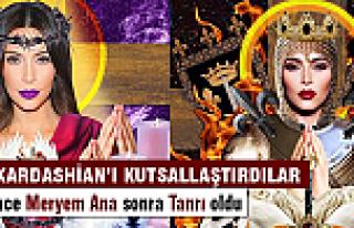 Kim Kardashian Meryem Ana oldu!