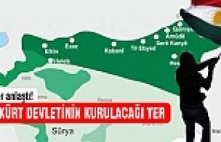Kürt devleti kuruluyor!