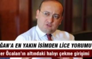 """""""Eylemler Öcalan'ın altındaki halıyı çekme..."""