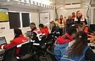 Madende Mahsur Kalan 8 İşçiyi Arama Çalişmalari...
