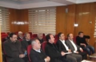 MALATYA TİCARET BORSASI YILIN İLK MECLİS TOPLANTISINI...