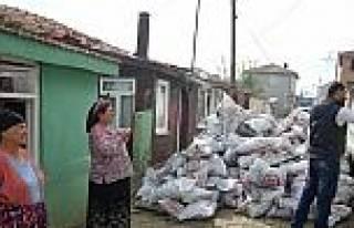 Malkara'da Kaymakamlık Yardımları Devam Ediyor