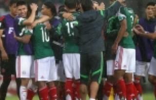 Meksika turnuvaya 3 puanla başladı