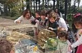 Minik Öğrenciler Hayvan Barınağını Ziyaret Etti