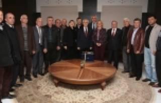 Muhtarlar Başkan Bozbey'i ziyaret etti