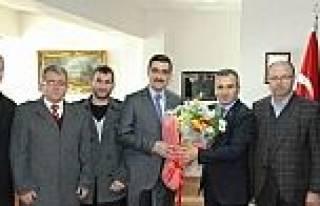 Müsiad Başkanı Tekin'den Vergi Dairesine Ziyaret