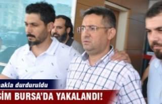 O isim Bursa'da nefes kesen operasyonla yakalandı!