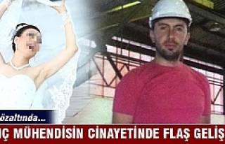 Öldürülen mühendisin eşi de gözaltına alındı