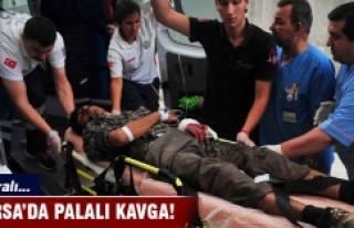 Orhangazi'de palalı kavga: 1 yaralı