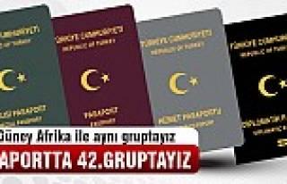Pasaportta 42.gruptayız