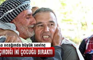 PKK 2 ailenin çocuğunu serbest bıraktı