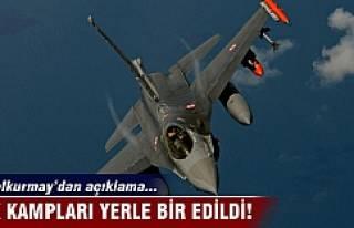 PKK kampları yerle bir edildi!G