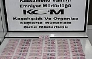 Sahte para basan kişiler tutuklandı