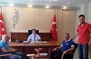 Sendikacılar Vali Orhan Düzgün'ü Ziyaret Etti