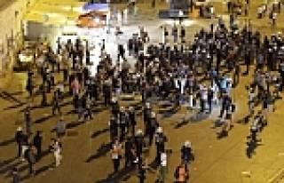 Taksim'de Cumhurbaşkanı protestosu!
