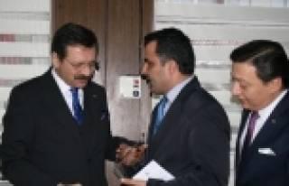 Türk Dünyası İşbirliği Ödülü Tobb'ne