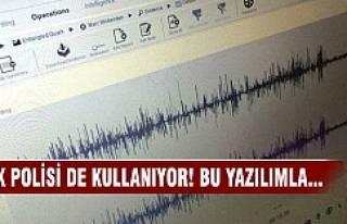 Türk polisi de kullanıyor! Bu yazılımla...