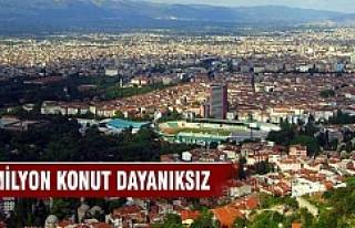 Türkiye'de 10 milyon konut dayanıksız