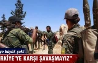 'Türkiye ile savaşmayız' deyip PYD'den...