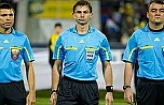 Türkiye maçına Rus hakem