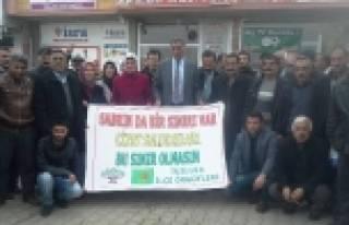 Tuzluca'da Cizre Olayları Kınandı